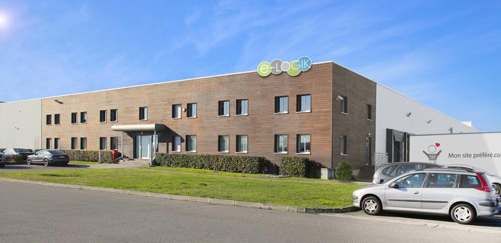 entrepôt logistique e-commerce e-logik à Toulouse
