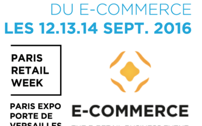 Nouveauté: E-LOGIK exposera au salon E-commerce Paris 2016