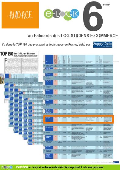 Palmares supply chain 2016   e-LOGIK prestataire de solutions logistiques pour les sites e-commerce