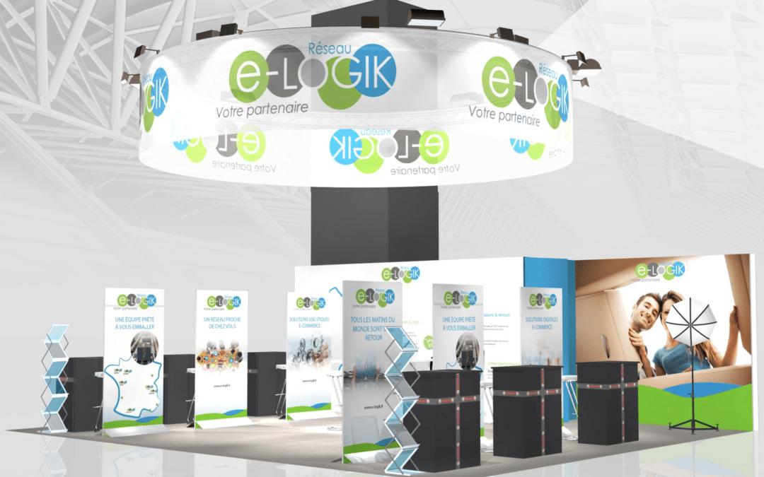 e-Logik, spécialiste de la logistique e-commerce sera présent au salon e-commerce de Paris