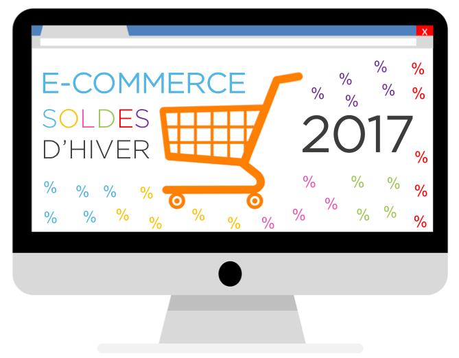 e-commerce et les soldes d'hiver 2017 sur e-logik