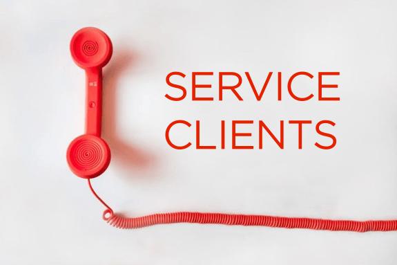 service clients logistique