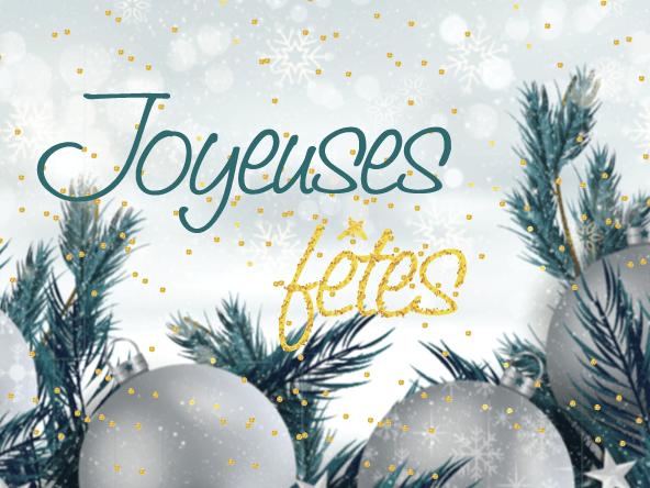 Joyeuses fêtes by le réseau e-LOGIK