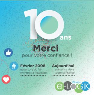 10 ans déjà...Merci pour votre confiance