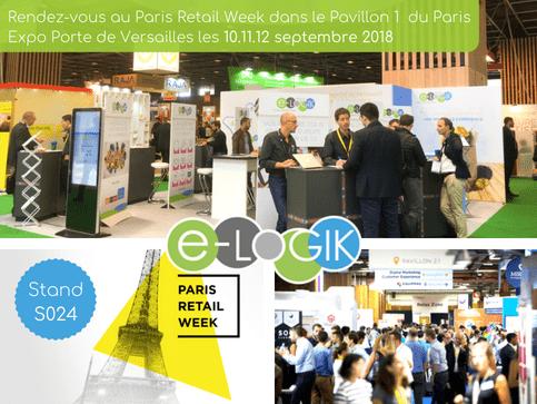 e-LOGIK au Paris Retail Week 2018