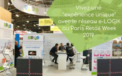 Vivez une expérience unique avec le réseau e-LOGIK au Paris Retail Week 2019